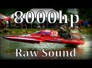 8000hp Dragboats in San Angelo,Texas Raw Sound