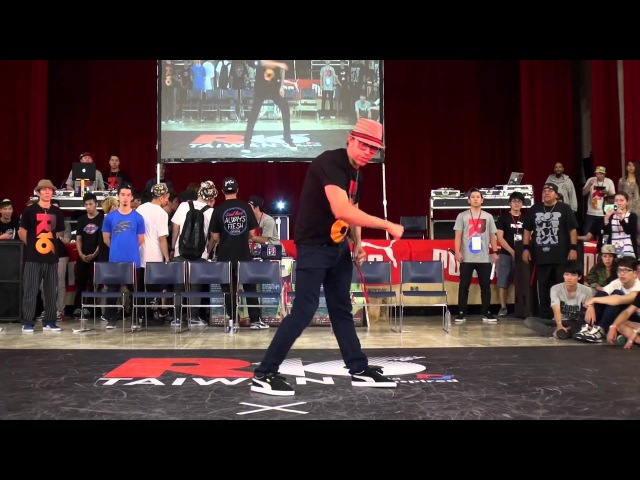 2014 R16 TAIWAN POPPING JUDGES SHOWCASE l SWEEPY l USA