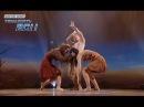 Алиса, Елена и Олег - Дождь среди пустыни - Первый прямой эфир - Танцуют все 6 - 29.11.2013