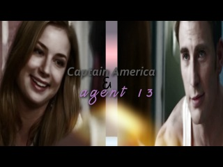 Captain America & Agent 13 | Steve Rogers and Sharon Carter ~~ I won't turn my back on you