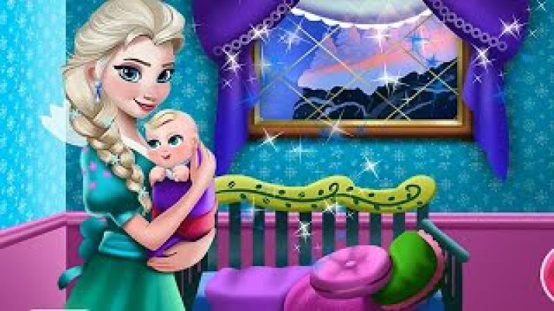 NEW Игры для детей—Эльза дизайн детской комнаты—мультик для девочек