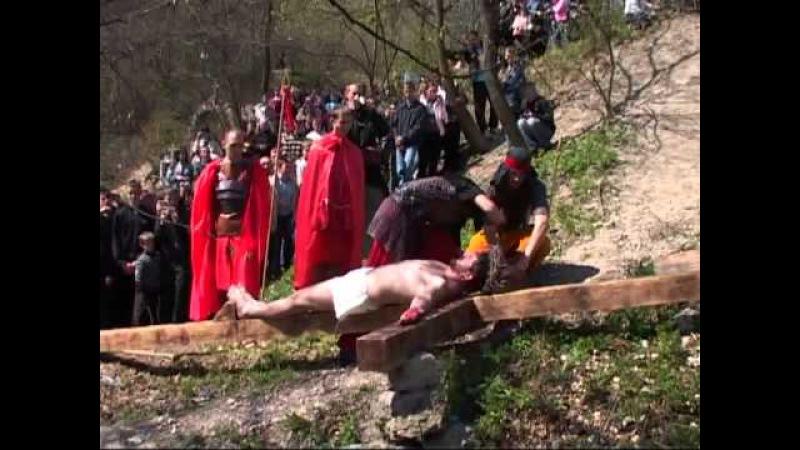 Уперше в Зарваниці театралізована Хресна дорога (Архів 2009)
