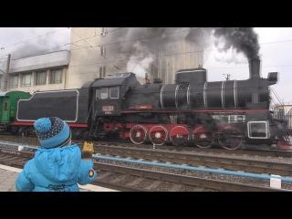 ПАРОВОЗ Харьков 26.12.15 Новогодний рейс / Locomotive