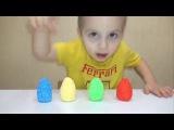 Томас и друзья сюрприз из шарикового пластилина игрушки / Thomas trains in magic surprise eggs