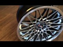 F1R Wheels, Model F23 Black Chrome, Spec 18x9,5 et35
