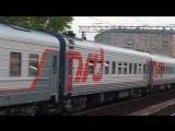 ЧС2к-917 с поездом Москва-Волгоград и ЭД4м-408