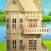 Кукольный домик Чудо-дом, мебель для кукол