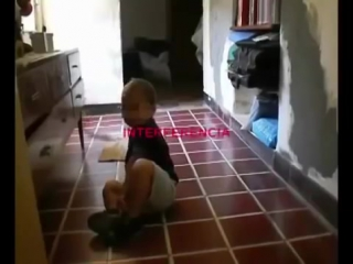 На видео засняли настоящего черта