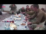 Footage of US marines having Iranian food while they were held in Iran.