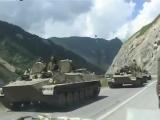 Ввод Войск РФ  в Южну Осетию 8 августа 2008 года