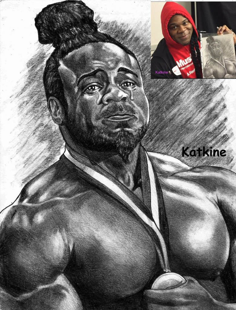 denis cyplenkov drawing by katkine � armwrestling