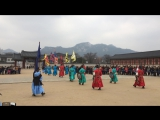 Gyeongbokgung Palace, Seoul. Guard changing ceremony.