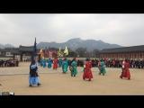 Gyeongbokgung Palace, Seoul. Guard changing ceremony.