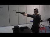 Стрельба. Глушитель. Сравнительня стрельба с глушителем