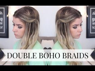 TUTORIAL | Double Boho Braids