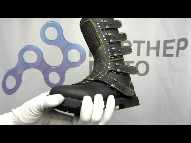 Обзор ботинок Icon 1000 ELSINORE от ПАРТНЕР-МОТО