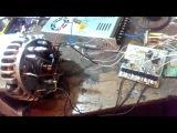 двигатель из генератора с датчиками