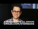 J.J. Abrams and the cast of Star Wars: The Force Awakens