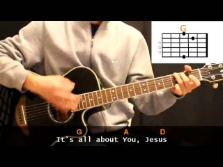 Matt Redman - Heart Of Worship Cover With Guitar Chords Lesson