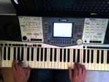 EisblumeKnorkator Liebeslied on PianoKeyboard