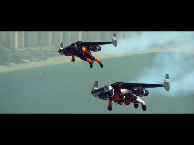 Jetman DubaiYoung Feathers | Русский перевод(4K)