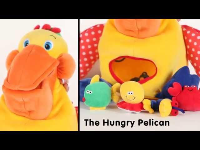 Голодный пеликан K's Kids от Уняша ПрокатУняша Уняша KsKids ПеликанKsKids