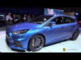 2016 Ford Focus RS - Exterior Walkaround - 2015 Geneva Motor Show