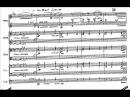 Toru Takemitsu - Requiem for String Orchestra (1957) [Score-Video]