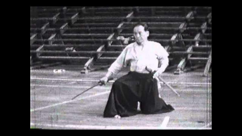 Rare Footage Haga Junichi, Genius Swordsman of Showa Period Kendo