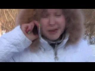 Маздаводка-беспредельщица Леночка разбушевалась