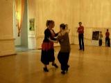 Elvira Malishevskaya. Lesson-2. Ocho (2) Tango-club EDISSA