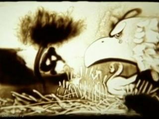 Рисунок песком на стекле (Песочная анимация)