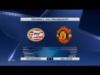 UCL Full Time Highlights 15.09.2015