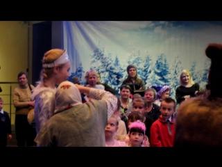 Новогодняя ёлка ''Новый год наоборот''-1 группа #Школаораторовиведущих#Киров43