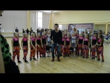 Наш коллектив с Евгением Раевым ОСКОЛ-ДАНС 2015