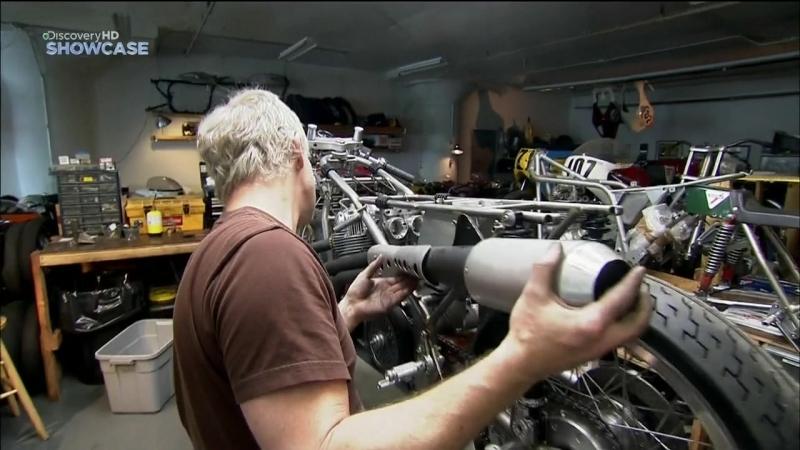 Discovery: Гоночный мотоцикл/Cafe Racer 3 сезон 6 серия