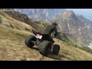 Подборка эпичных трюков в игре ГТА 5 / Gta V Epic Stunts - Volume 1
