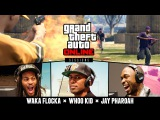 Grand Theft Auto V Online Sessions Waka Flocka Flame, Jay Pharoah &amp DJ Whoo Kid