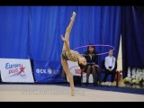 Передача Шаги к успеху ))) равновесие планше.....the training in rhythmic gymnastics