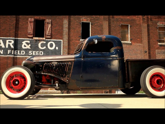 Little Rascal 1946 Chevy Ford Salt Flat Style Hot Rod Pickup Truck SCTA (FOR SALE)