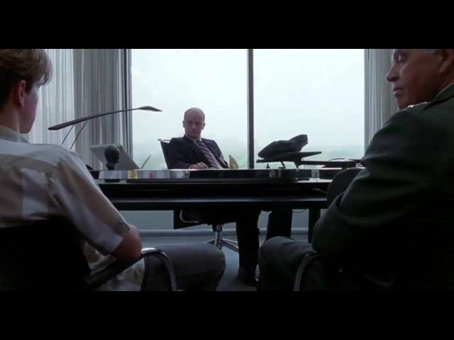 «Умница Уилл Хантинг» (Good Will Hunting), 1997 — сцена собеседования главного героя в АНБ