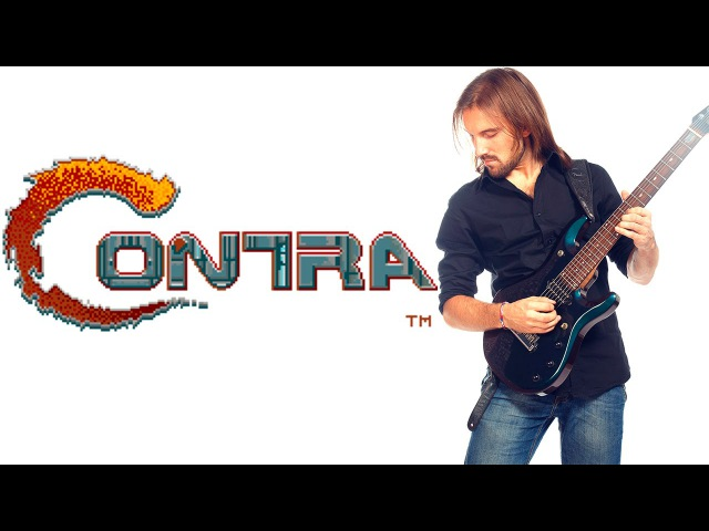 ➡ Contra. All stages soundtrack Metal cover. (nesdendy) With gameplay.