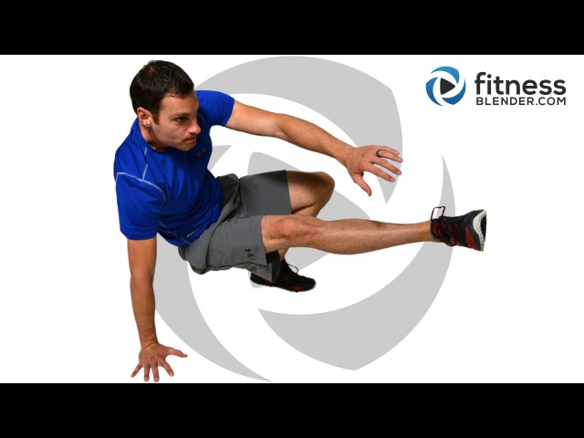 FitnessBlender - Intense at Home HIIT Cardio and Abs Workout | Кардио-тренировка с акцентом на живот