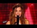 The Voice Avec son violon Gabriella bouleverse public et coachs