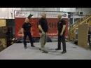 Ножевой бой - работа обратным хватом, Арсен Меликджанян на 30-й выставке Клинок