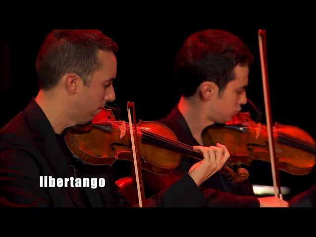 Quatuor Ebène - Libertango (Live in Paris - Fiction at the Folies Bergère) HD 1080p