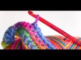 4 Урок. Подробное вязание крючком для начинающих.