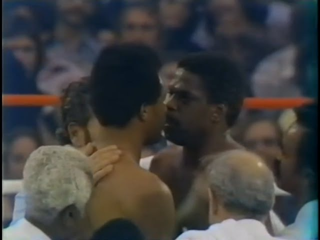 George Foreman vs Ron Lyle Full 1976 fight broadcast
