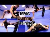 MMA &amp Taekwondo Training on Century Dummy Ginger Ninja Trickster