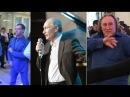 Политики поют и танцуют. В ролях Владимир Путин Дмитрий Медведев Рамзан Кадыро ...